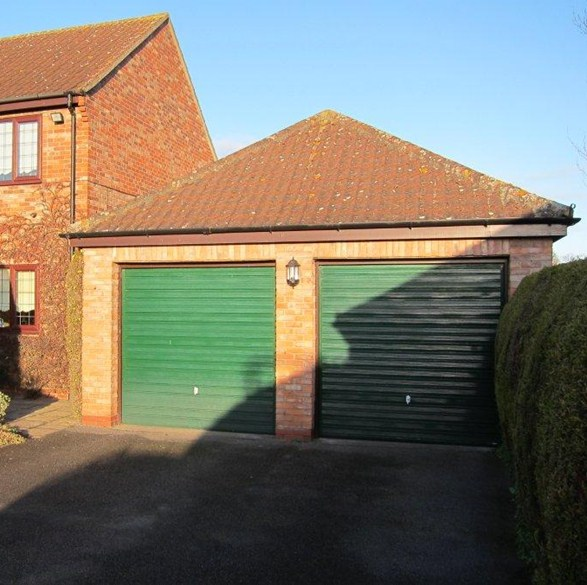Elegant We Come And Remove Your Two Old Garage Doors And Centre Brick Pillar And  Install One New Door The Full Width Of Your Brick Opening.